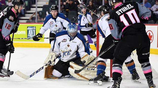 WHL: ICE finish season with 10th straight loss