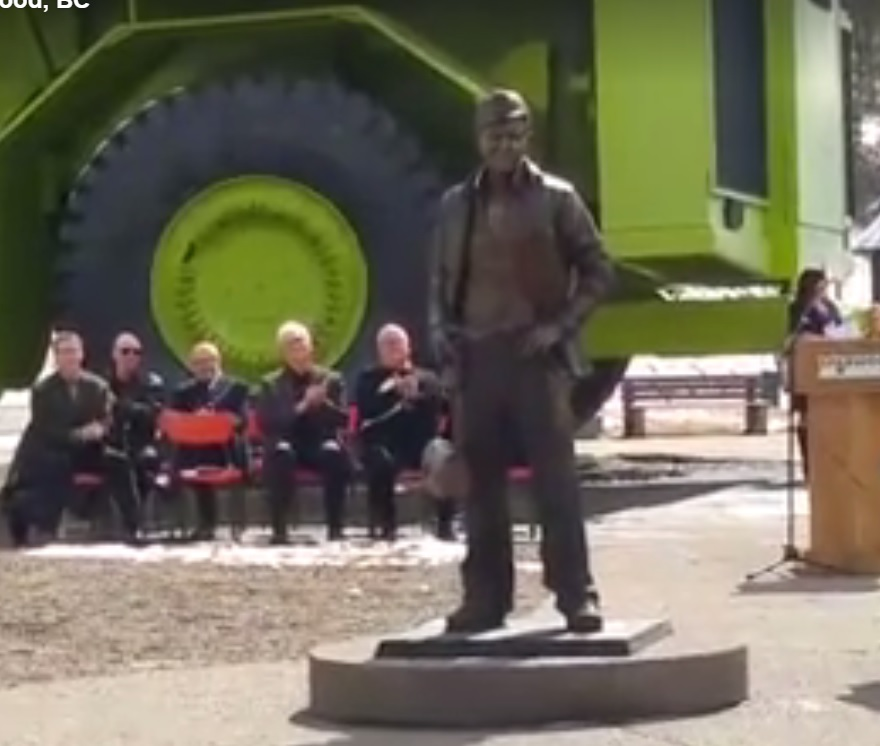 Sparwood proud of statue for 1967 mine explosion victims