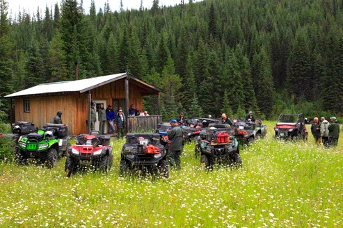 Province restricts ORV usage in SE Fire Centre