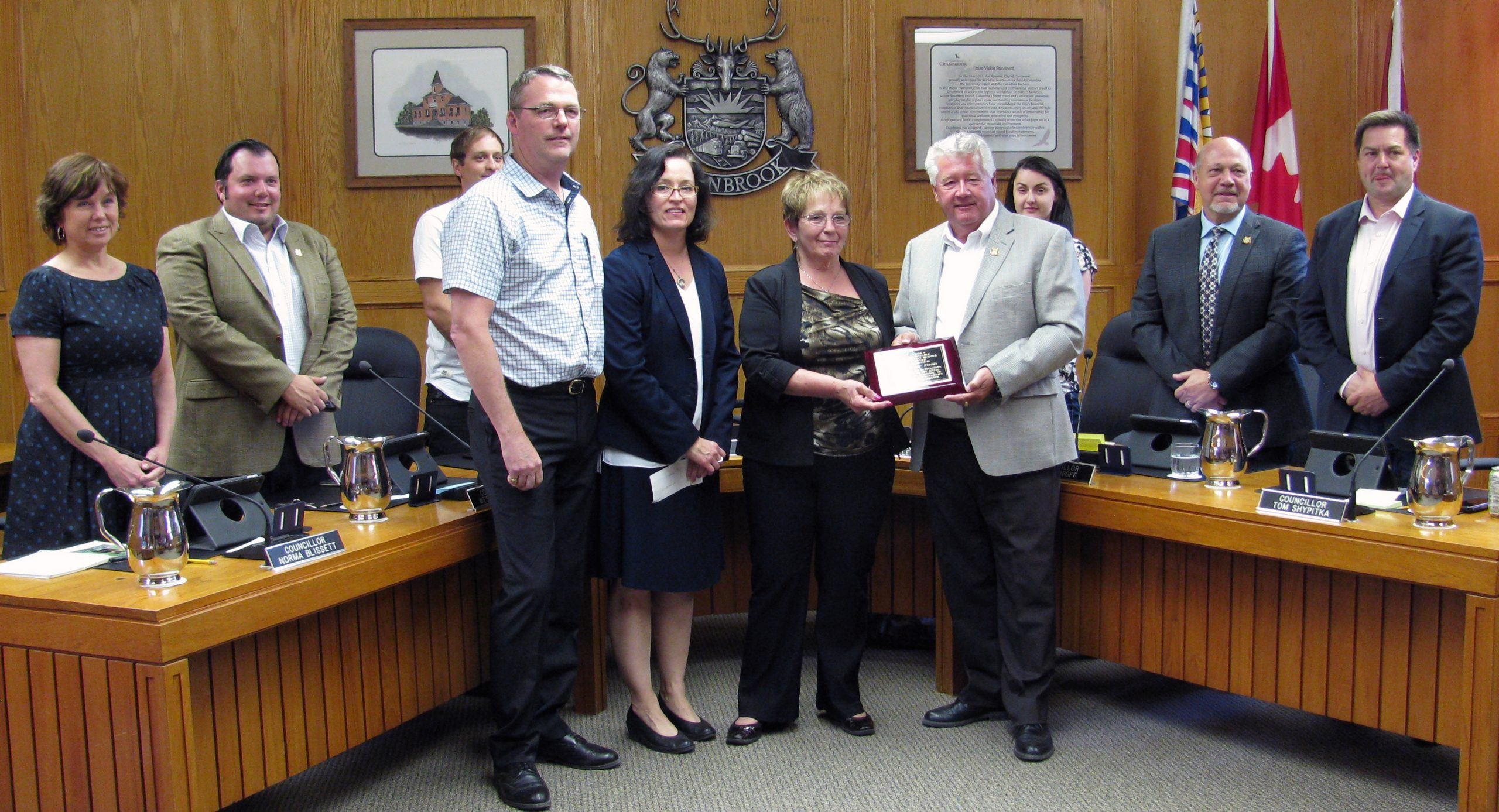 Cranbrook recognizes Sustainable Community Builder for 2016