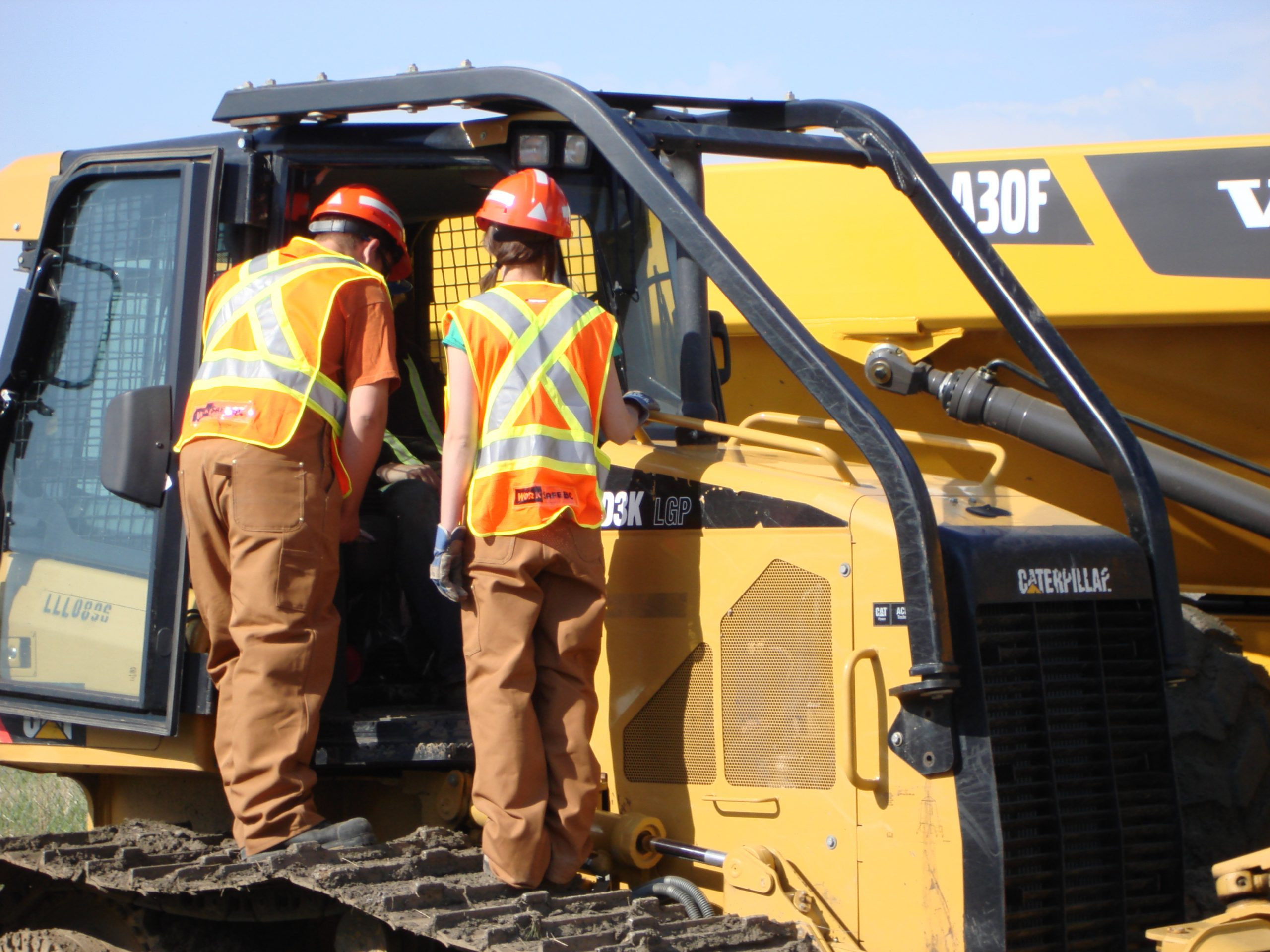 """Elk Valley students reacting positively to """"Project Heavy Duty"""""""