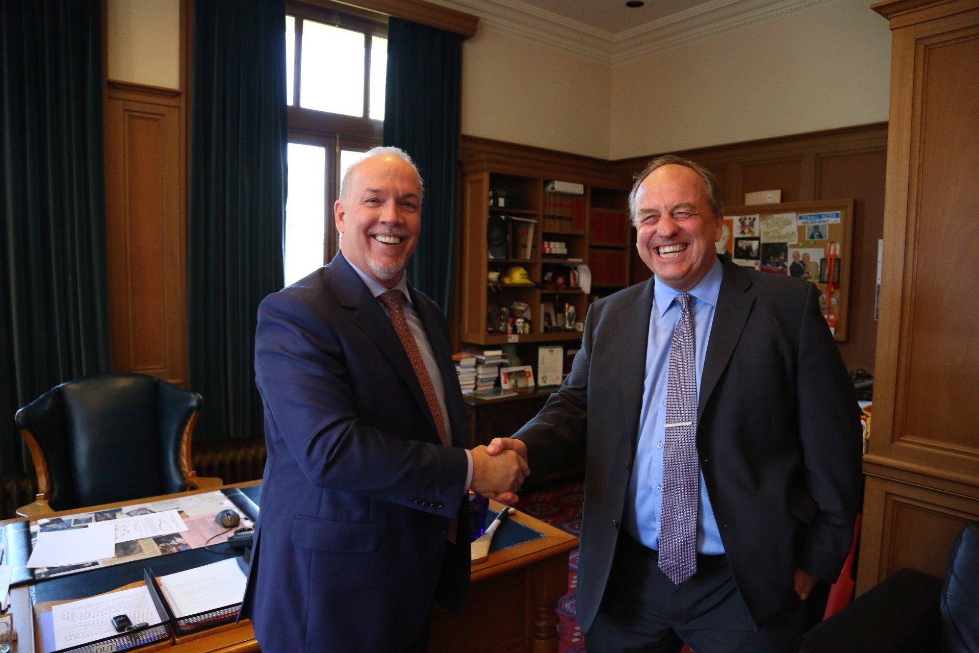 Local New Democrat candidates applaud NDP-Green alliance