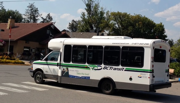 Two new BC Transit buses arriving in Cranbrook
