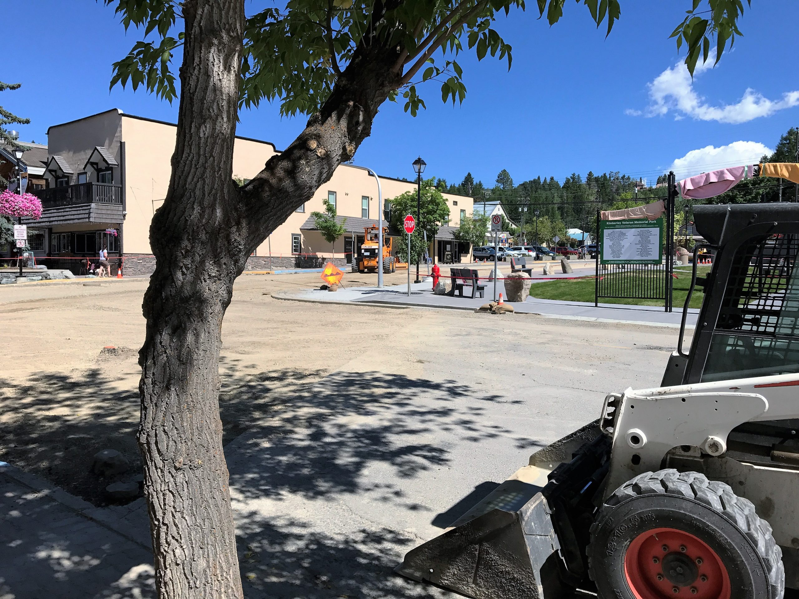 Kimberley's Wallinger/Spokane intersection closed due to construction
