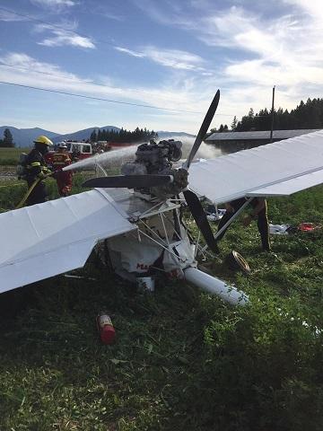 Two survive plane crash near Creston