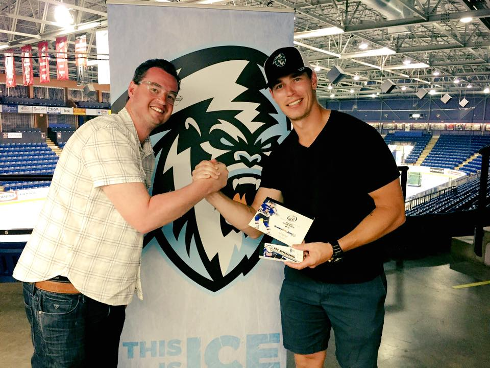 NHLer creates fund to send students to ICE games