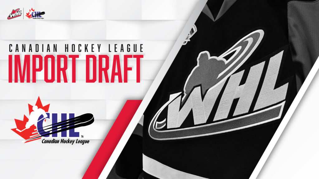 ICE select 3rd overall in CHL Import Draft Wednesday