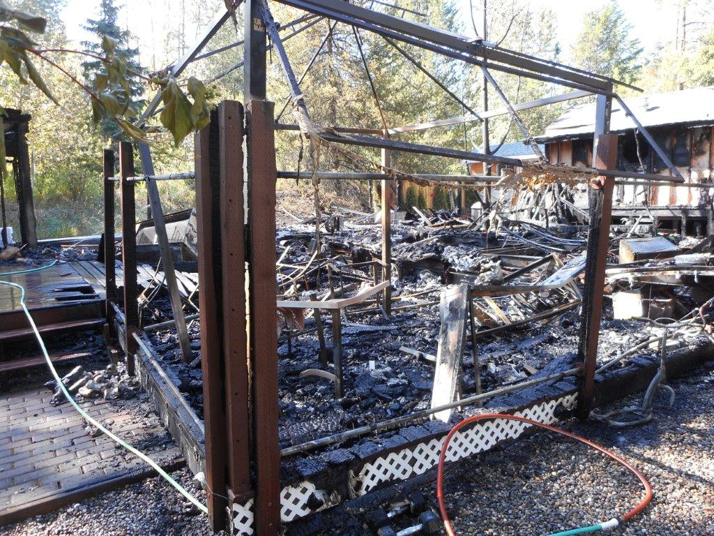 No injuries after Moyie fire destroys trailer