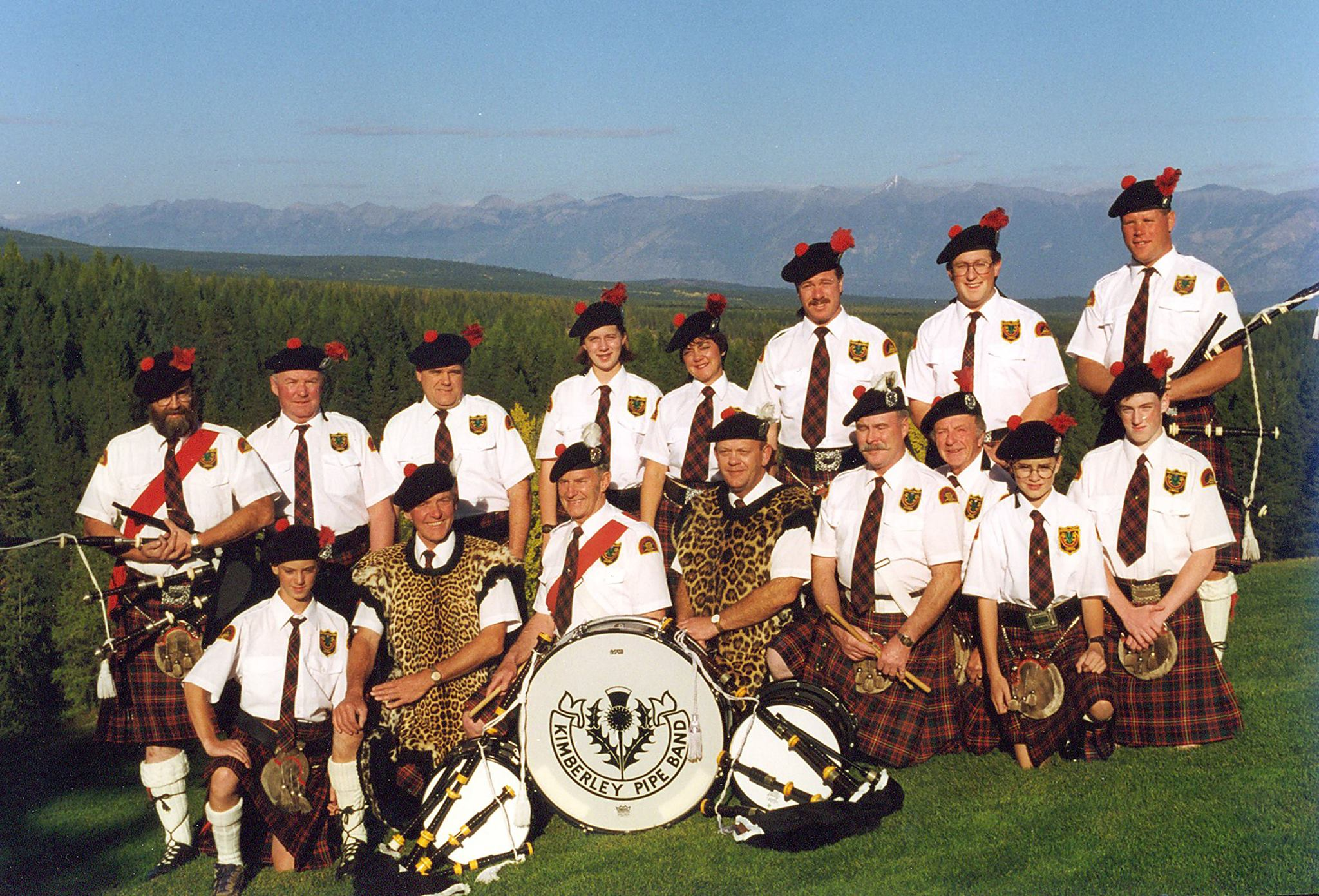 Kimberley Pipe Band celebrates 90th anniversary this weekend