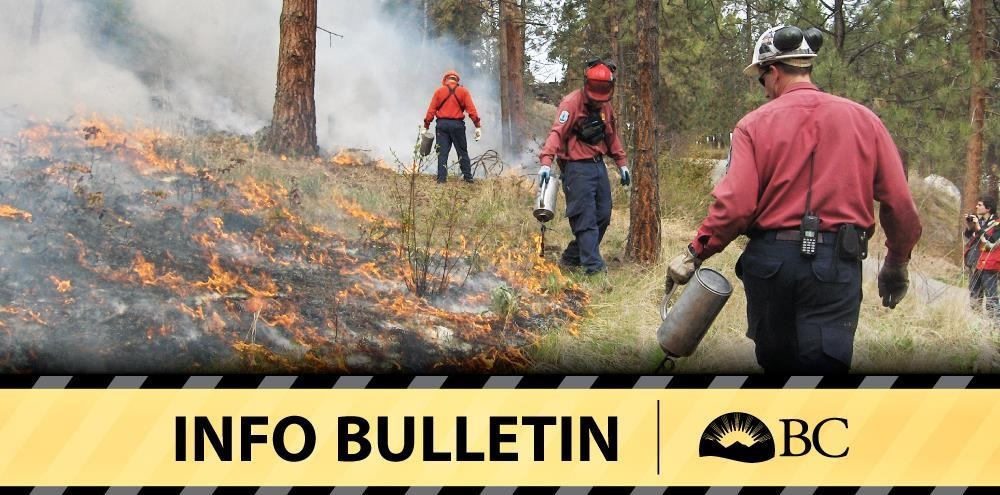 Category 2 open burning prohibition begins in SE Fire Centre Friday