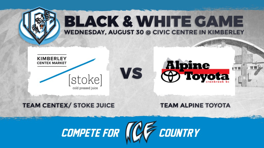 WHL: Annual Black vs. White game to wrap ICE camp