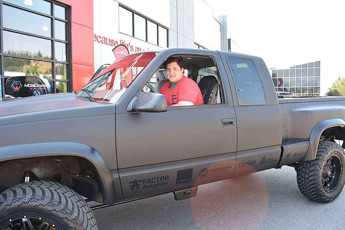 Make-A-Wish Foundation gives Fernie teen truck makeover