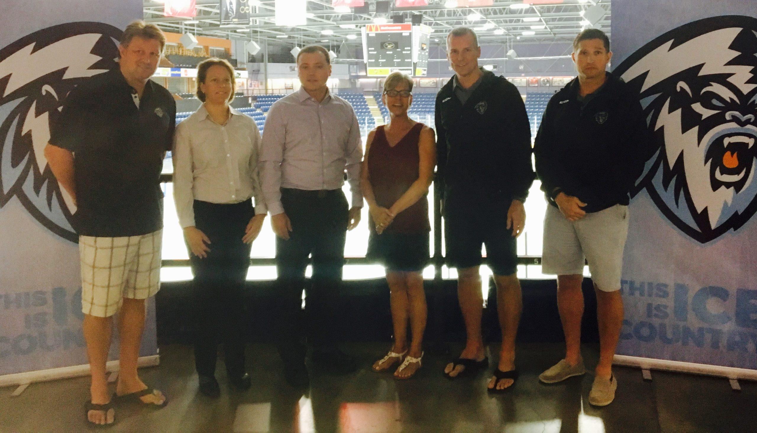 Kootenay ICE partner with East Kootenay bantam/midget teams