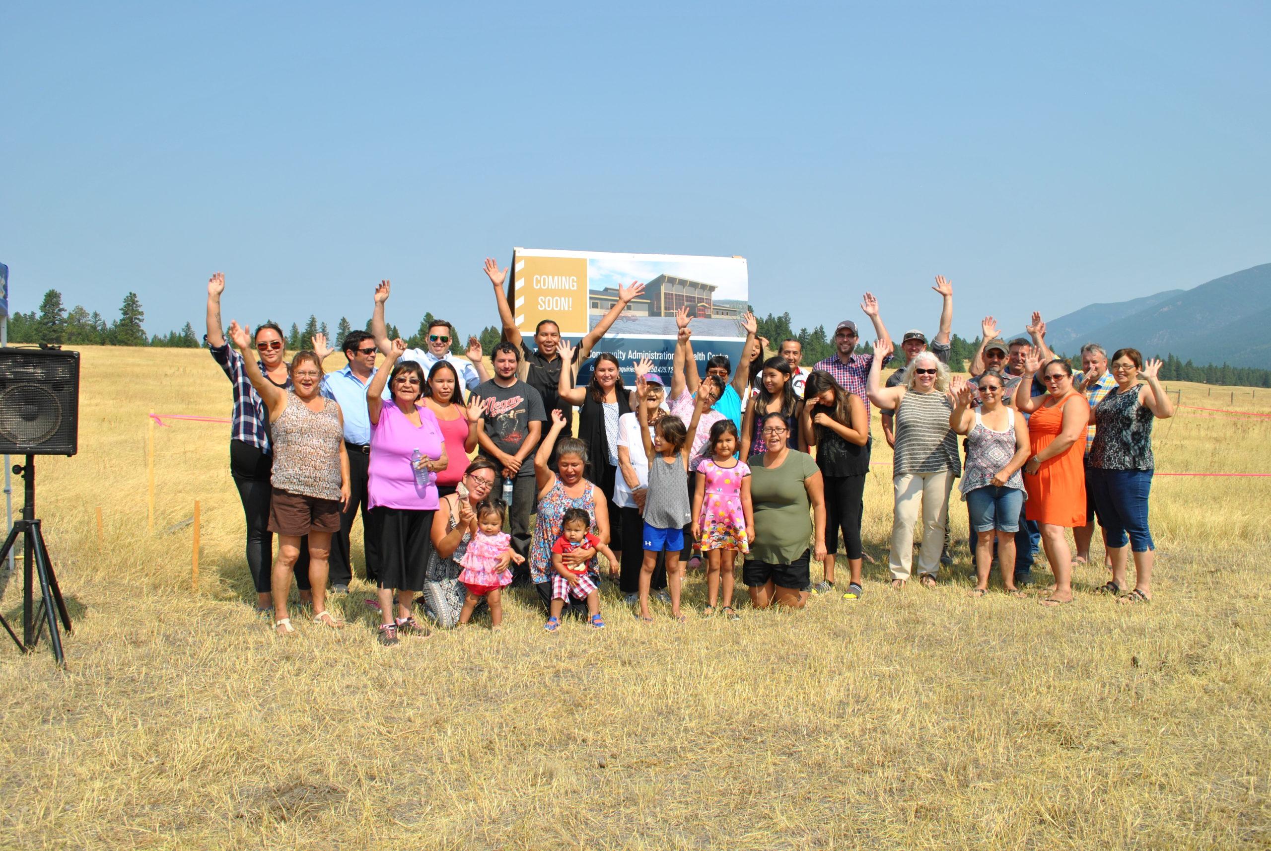 Tobacco Plains Indian Band breaks ground on $3.2 M community hub