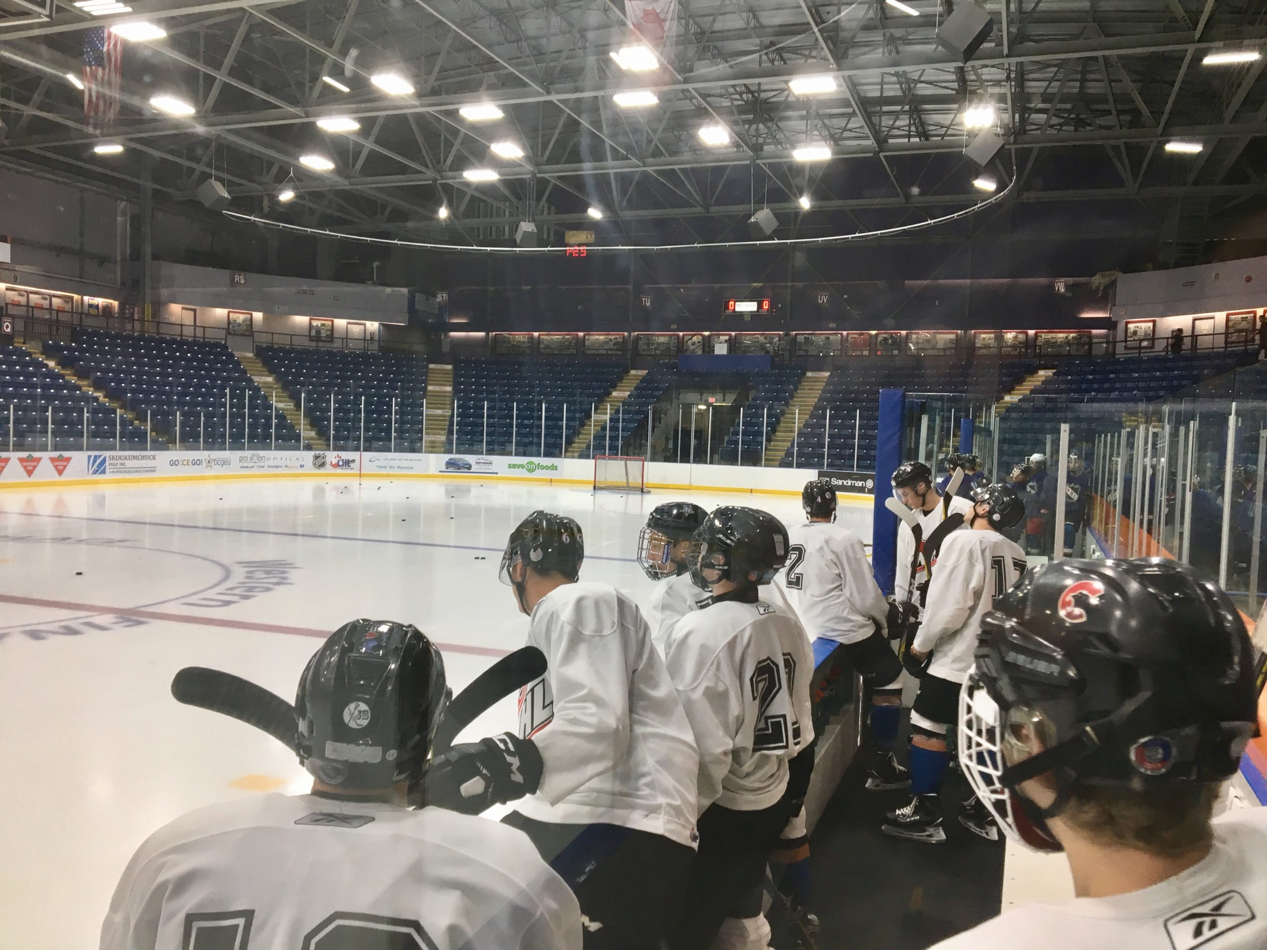 WHL: Competition rising for roster spots at ICE main camp