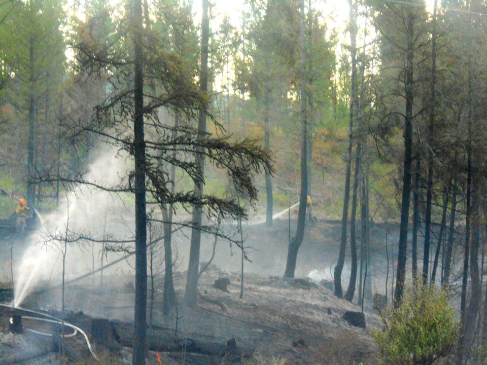 "Area E Director ""grateful"" for Island Pond wildfire response"