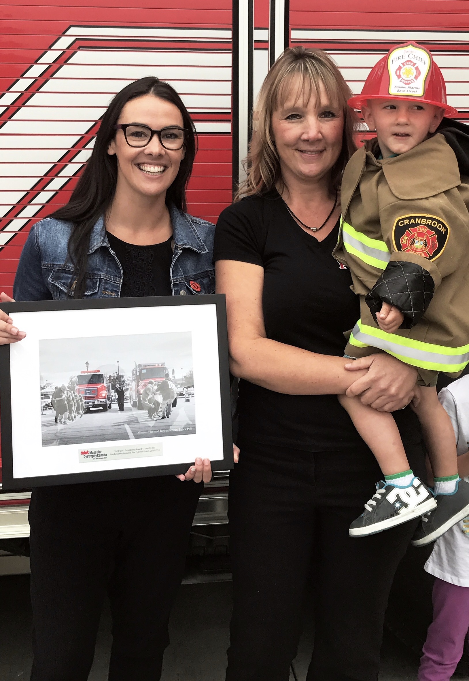 Cranbrook Fire Dept. recognized for MD fundraising