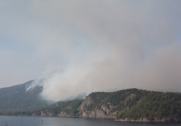 Controlled burns underway near Moyie, Flathead area fires growing