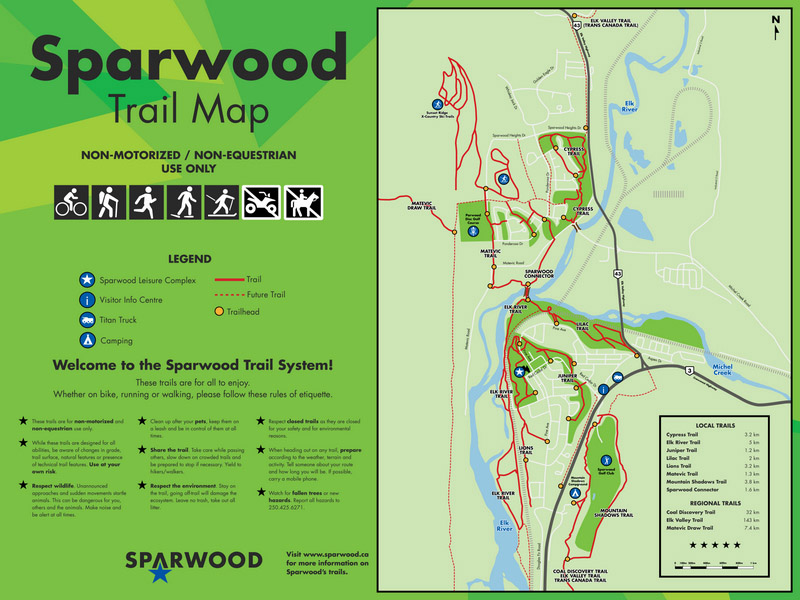 District of Sparwood to re-open trails