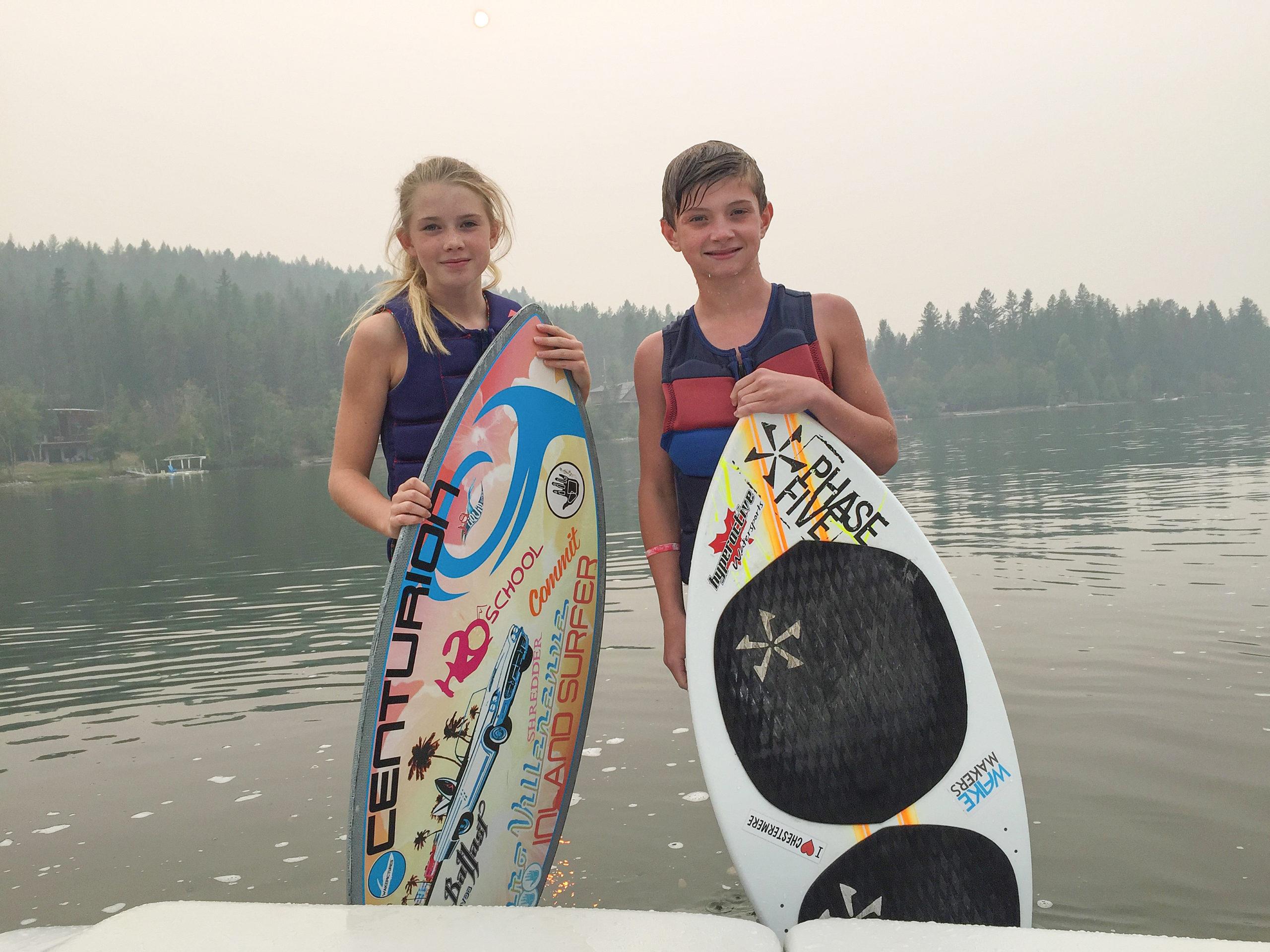 East Kootenay wake surfers competing at World Championships