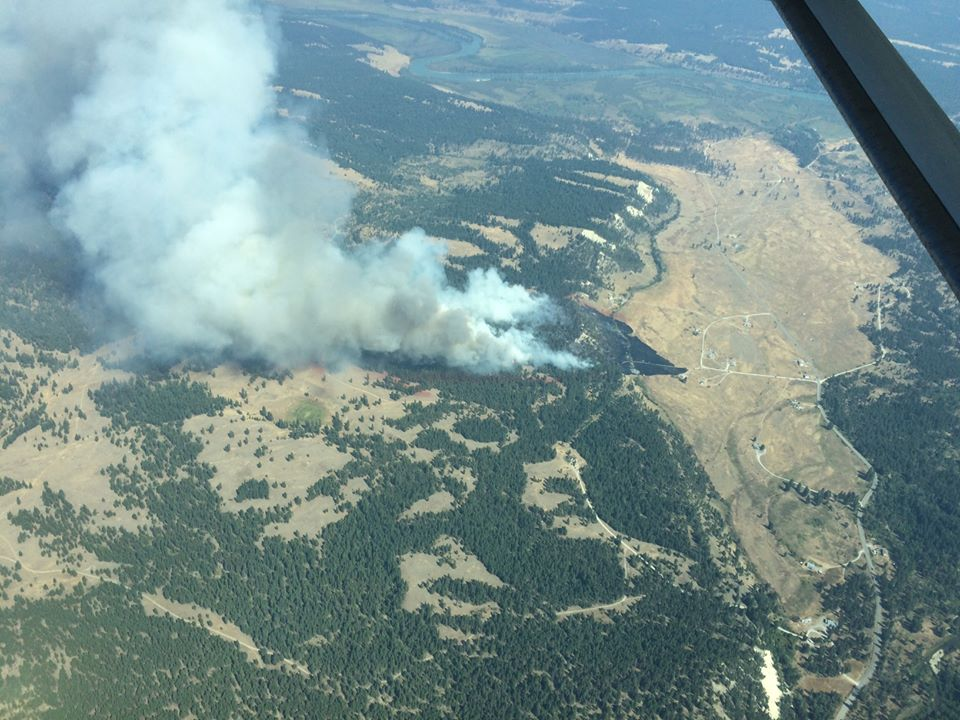 Evacuations issued for approx. 40 properties on ?aq'am reserve