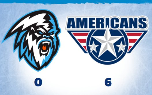 WHL: ICE shutout again by Americans in preseason