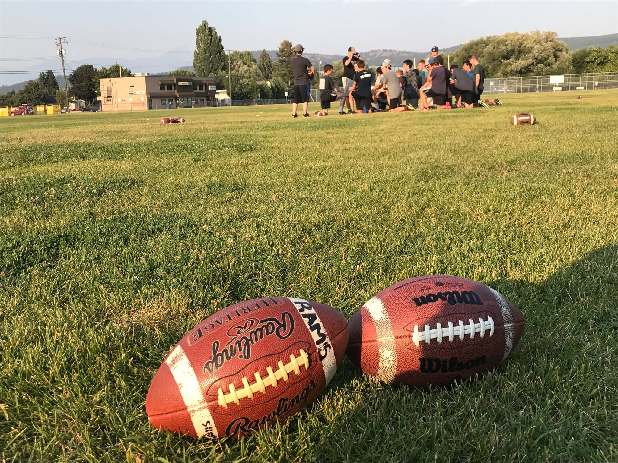 Rocky Mountain Rams Fall touch football program underway