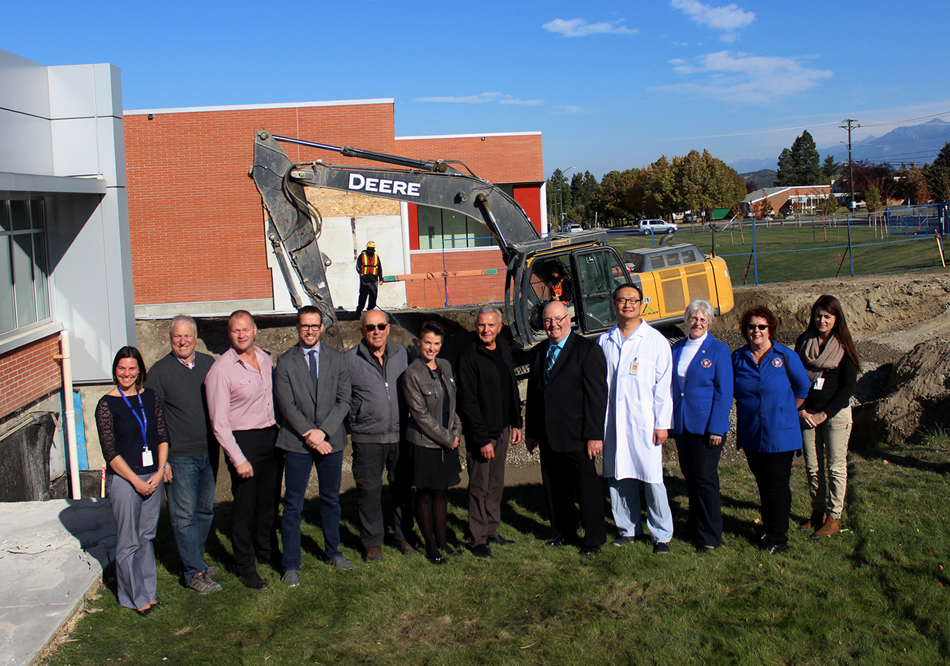 IH celebrates start of construction for permanent MRI space at EKRH
