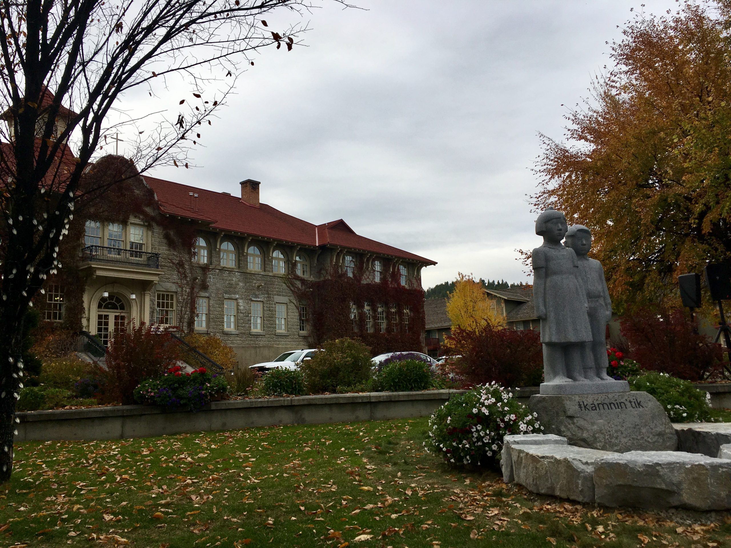 St. Eugene unveils residential school monument
