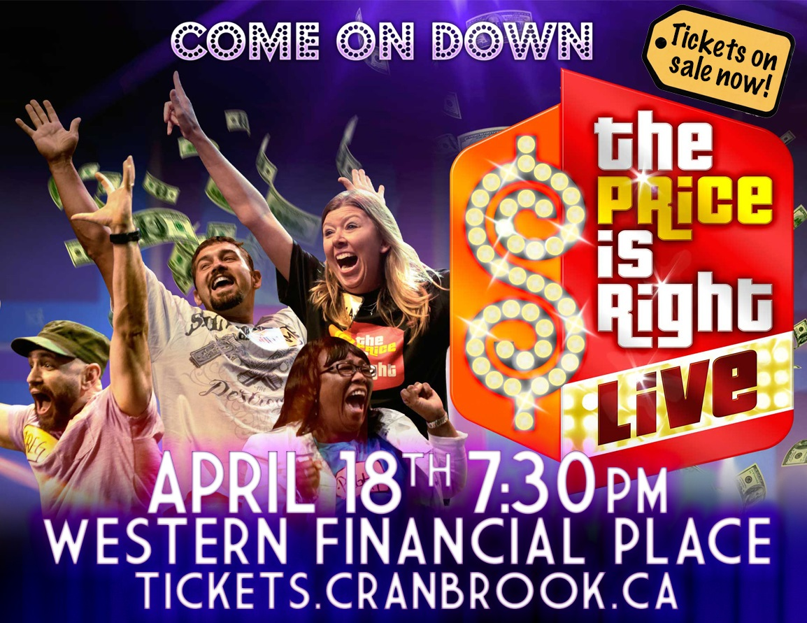 Price is Right Live coming to Cranbrook