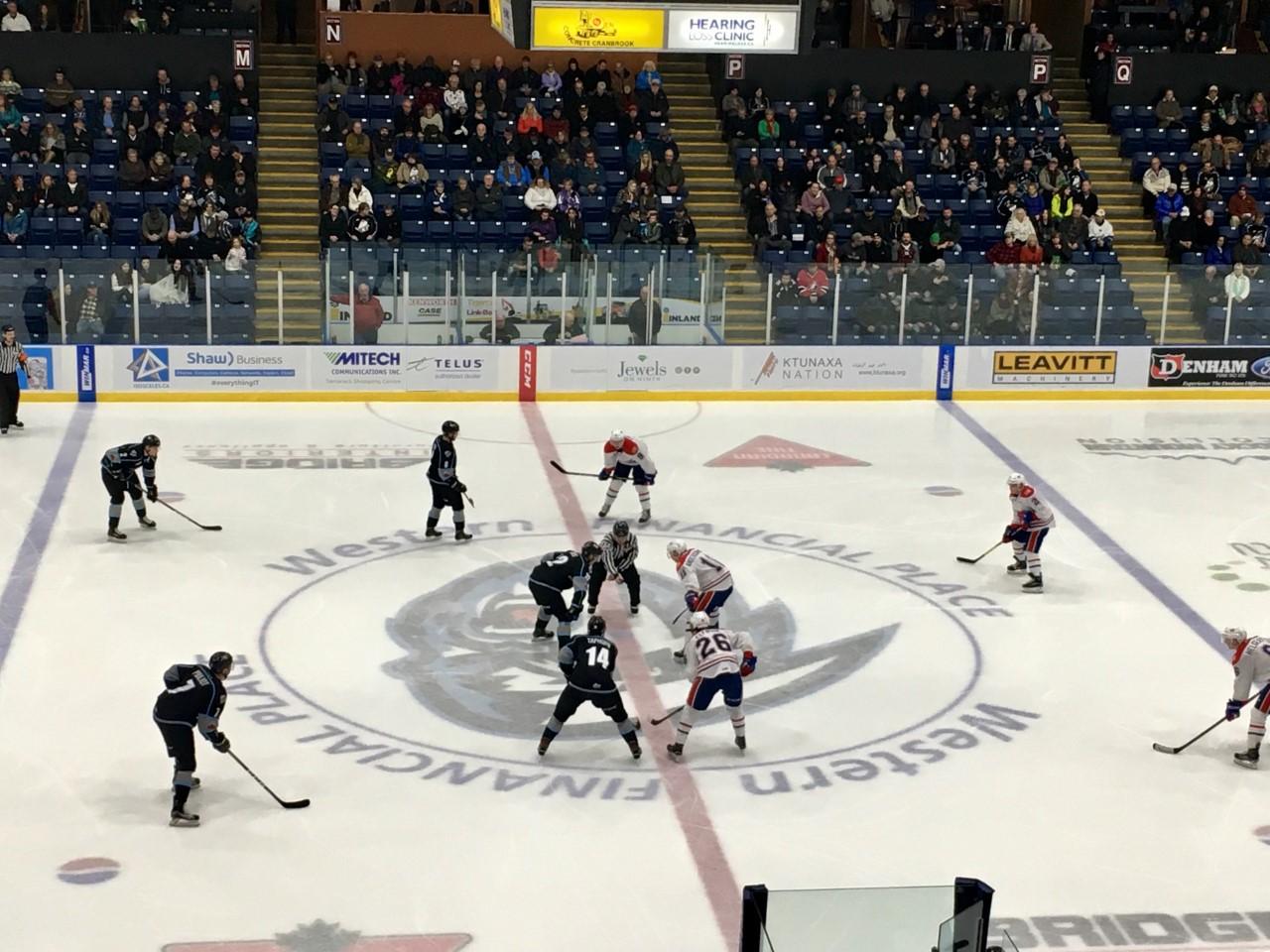 WHL: ICE drop third straight 5-4 to Spokane