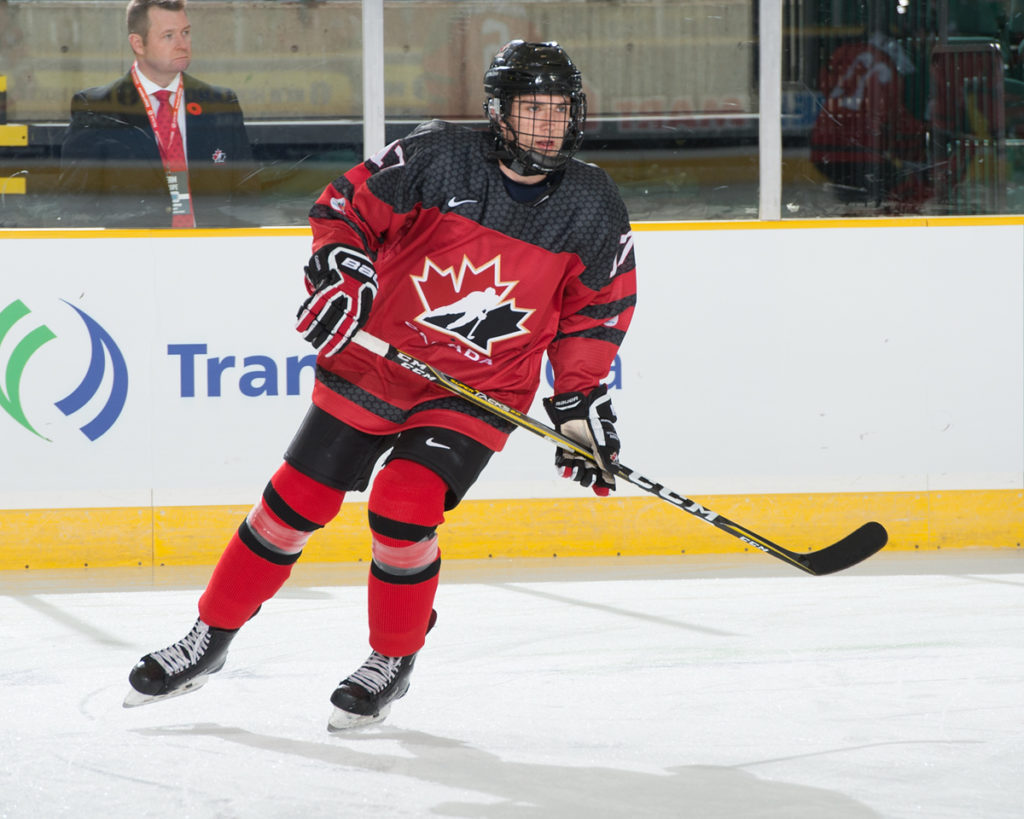 Canada beats Slovakia 4-2, assist for Krebs