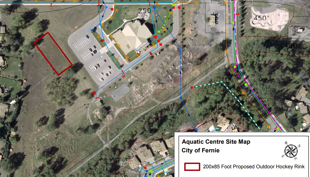 Fernie to build outdoor ice rink after arena tragegy