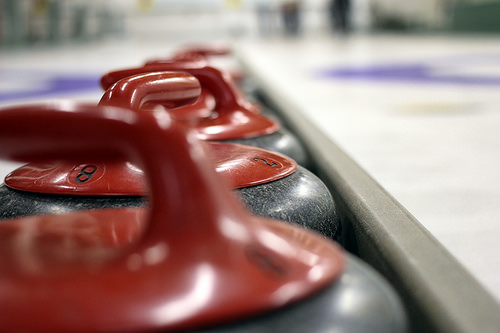Kimberley Jr. Women's curling team at provincials this week