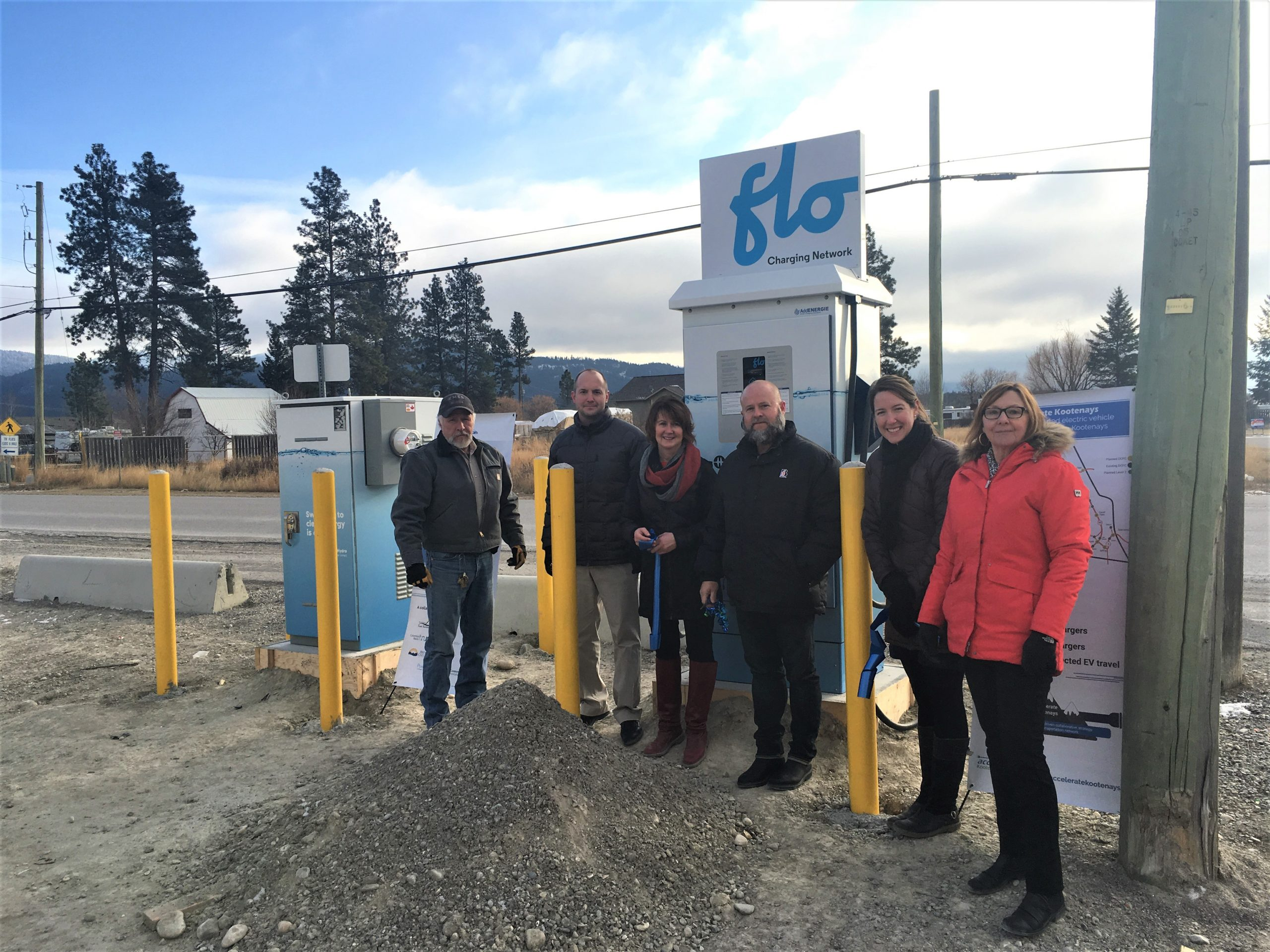 "Two ""critical"" EV chargers added to Kootenay network"