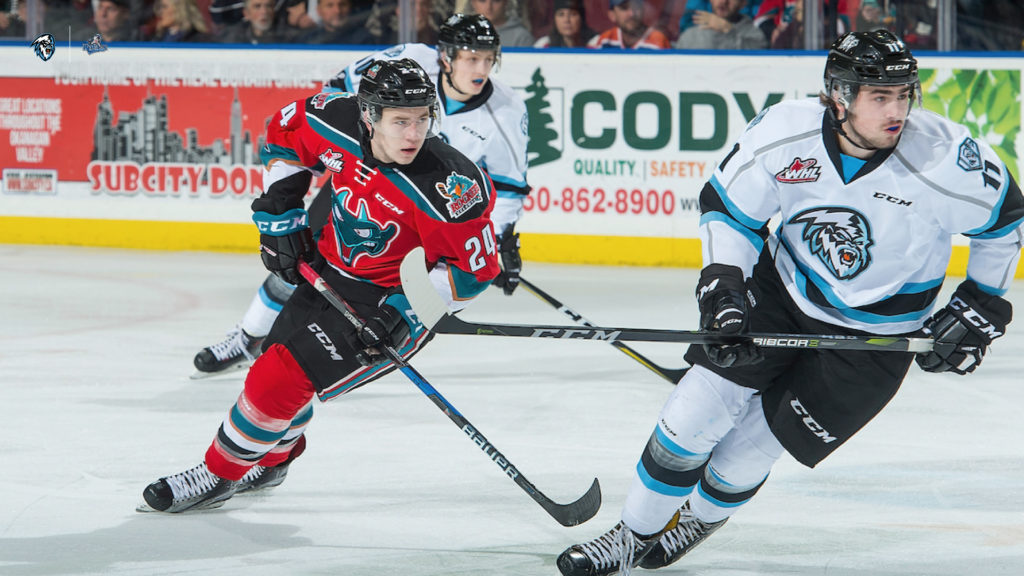 WHL: ICE deal de Wit to Victoria for draft pick