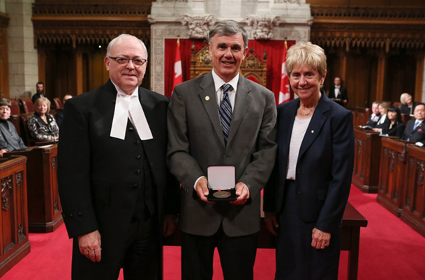 Cranbrook's Dobie receives Senate 150 medal