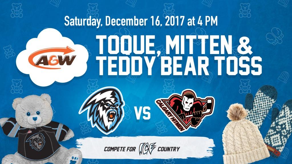 Kootenay ICE announce Teddy Bear Toss Dec. 16 vs. Calgary