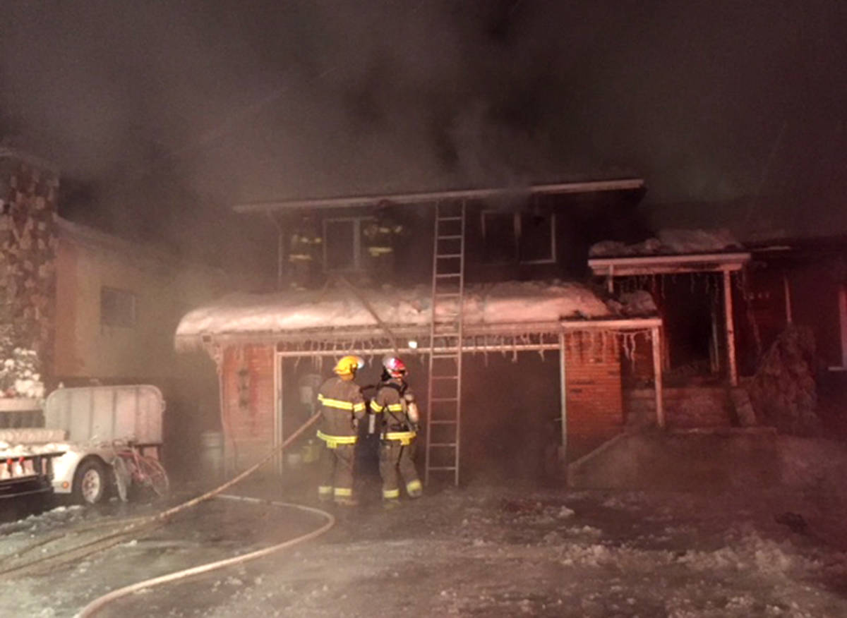 Fundraiser starts after Fernie Christmas eve house fire