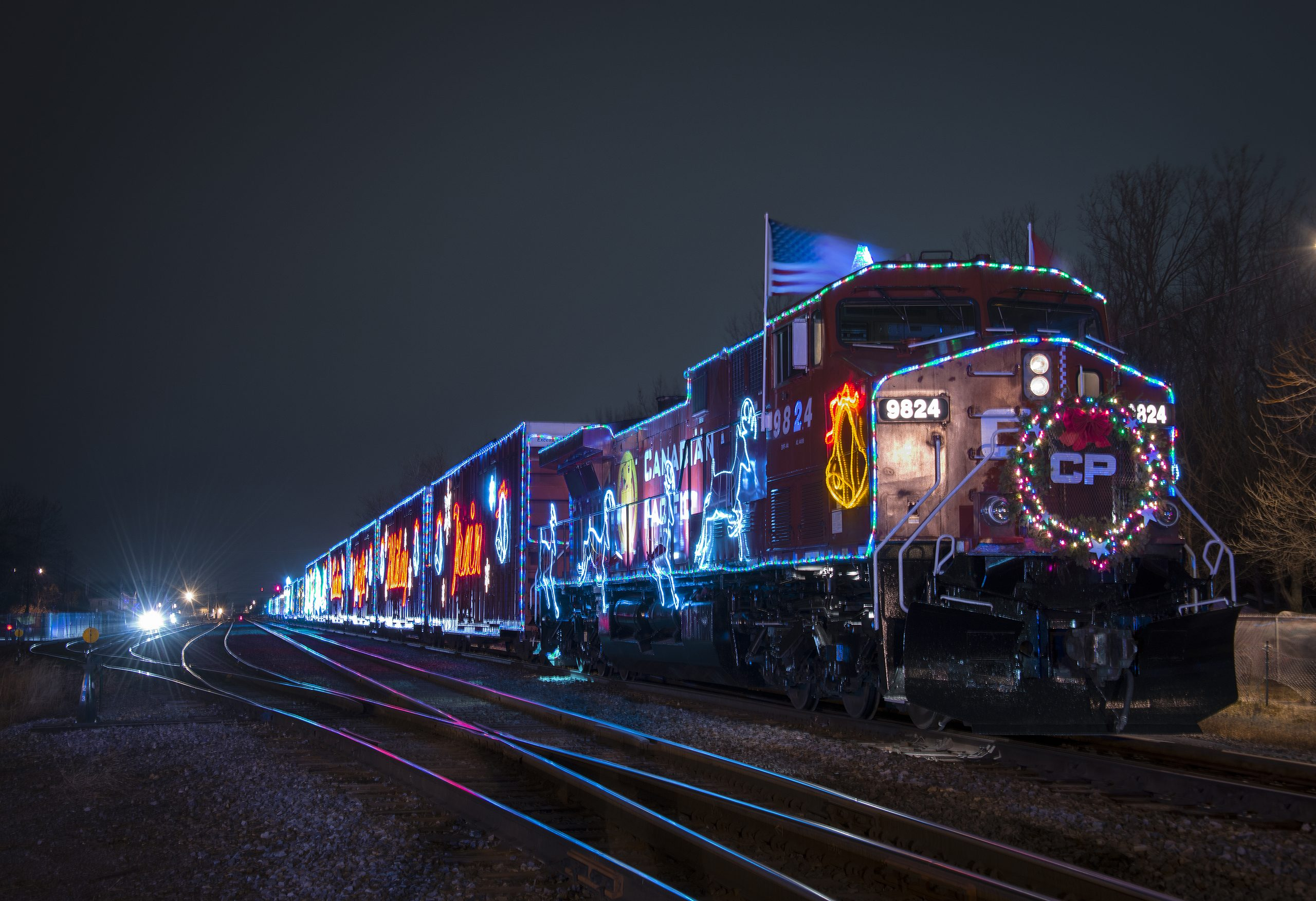 CP Rail Holiday Train chugs through East Kootenay Monday