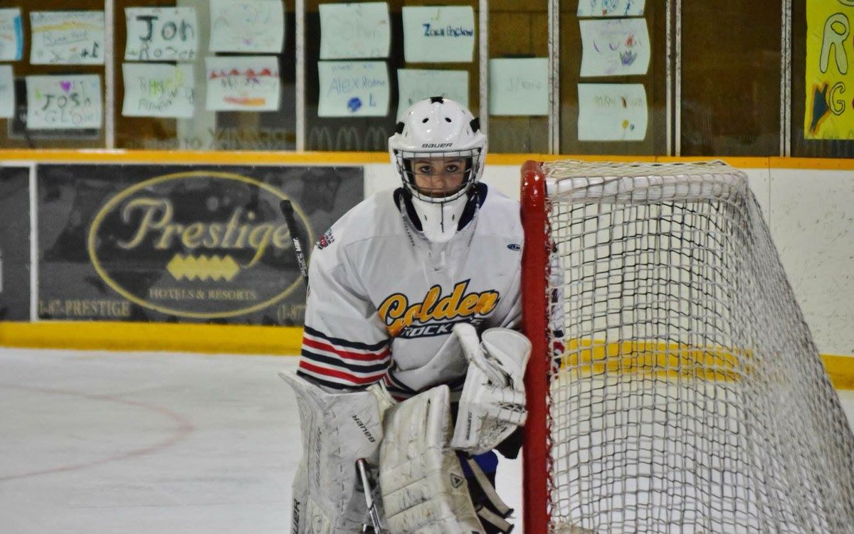 KIJHL: Local girl signs with Golden Rockets at age 15