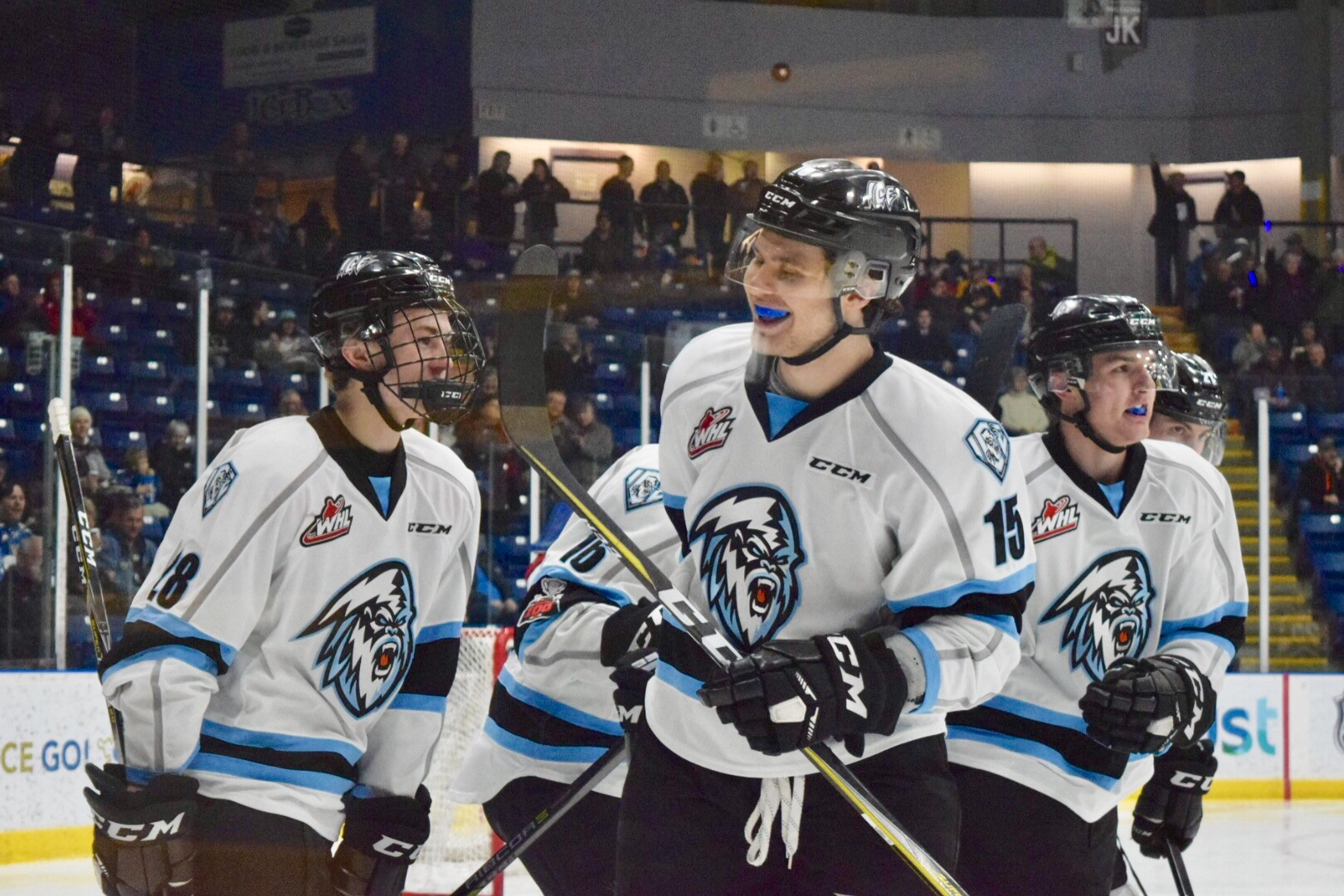 WHL: ICE look to match intensity of Warriors Wednesday