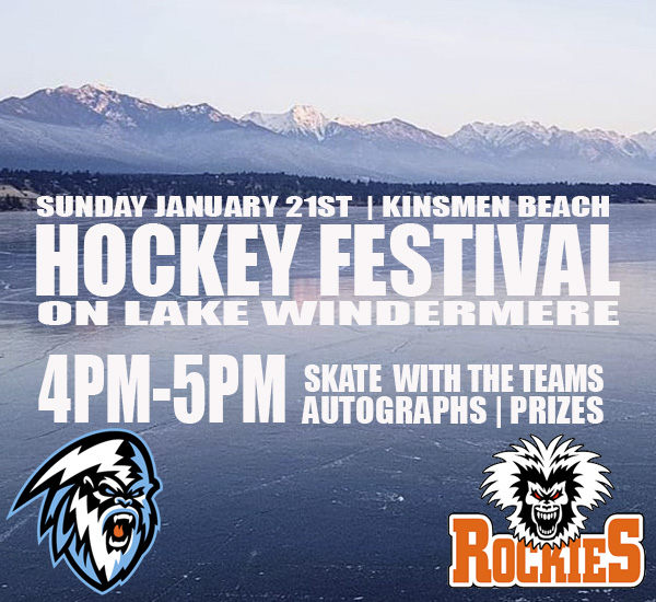 Kootenay ICE announce Lake Windermere Hockey Festival details