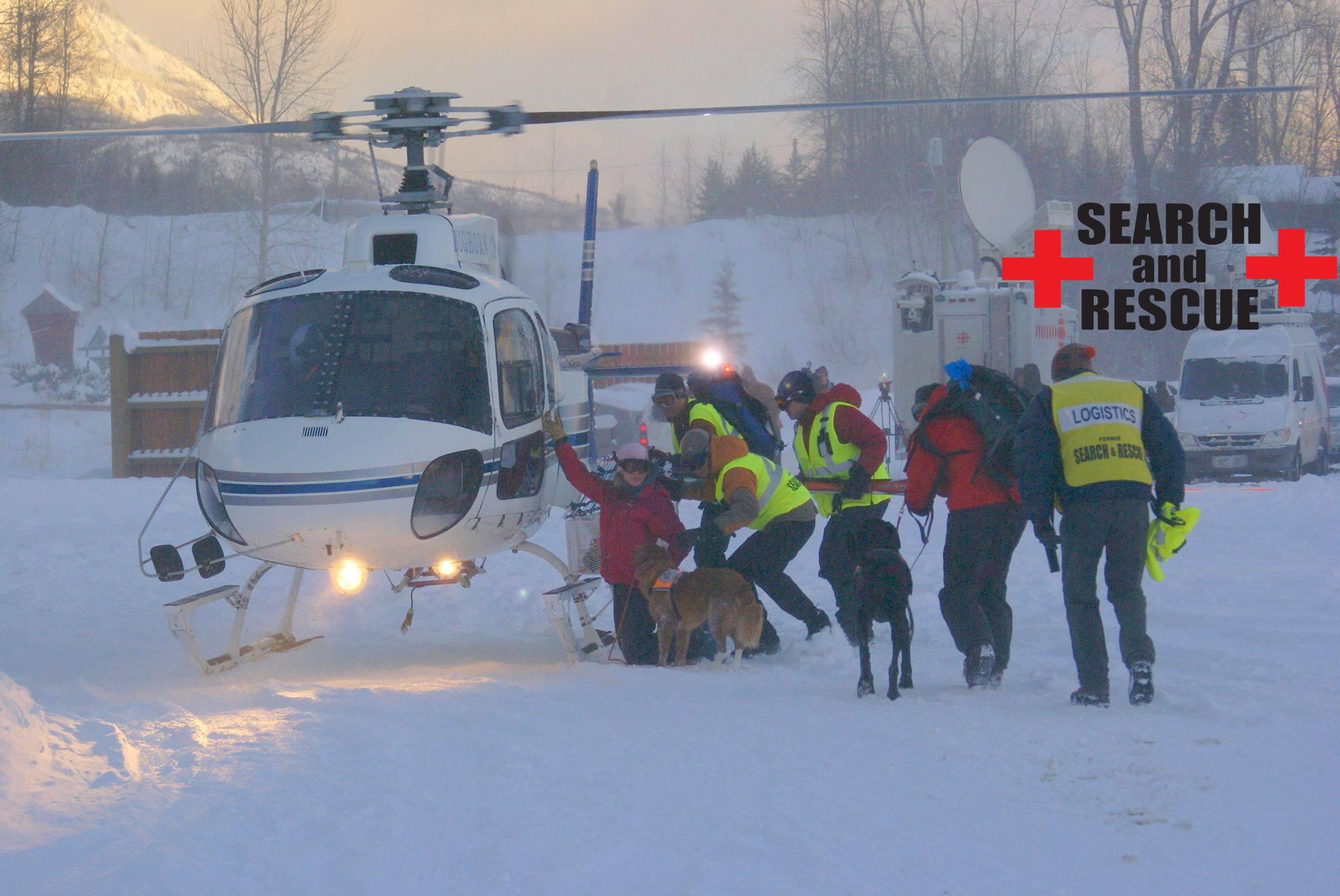 Local SAR pulls man from small avalanche near AB border