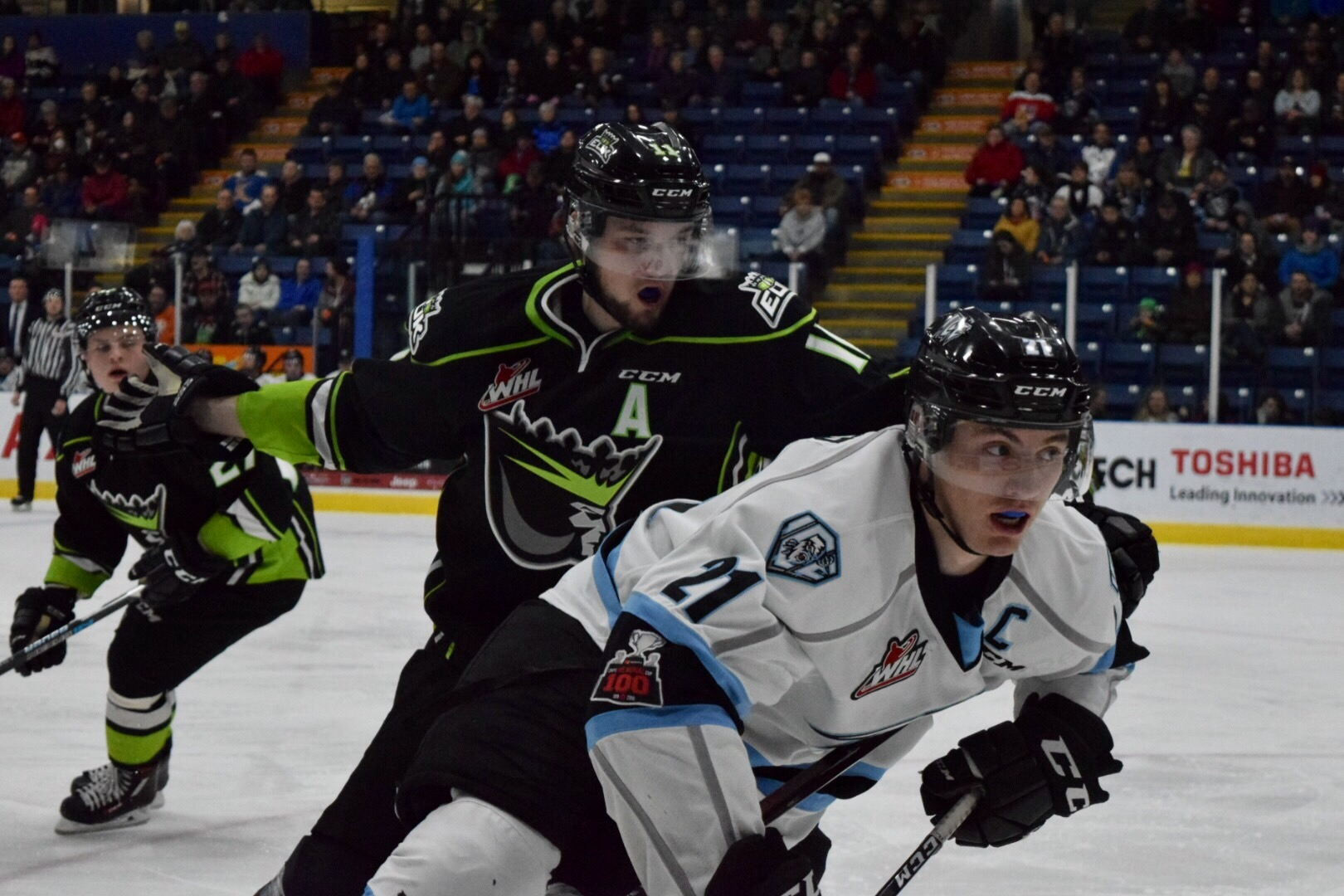 WHL: ICE struggle to score in 5-1 loss to Edmonton