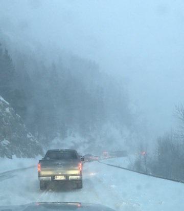 Snowfall Warning in effect for Kootenay Pass