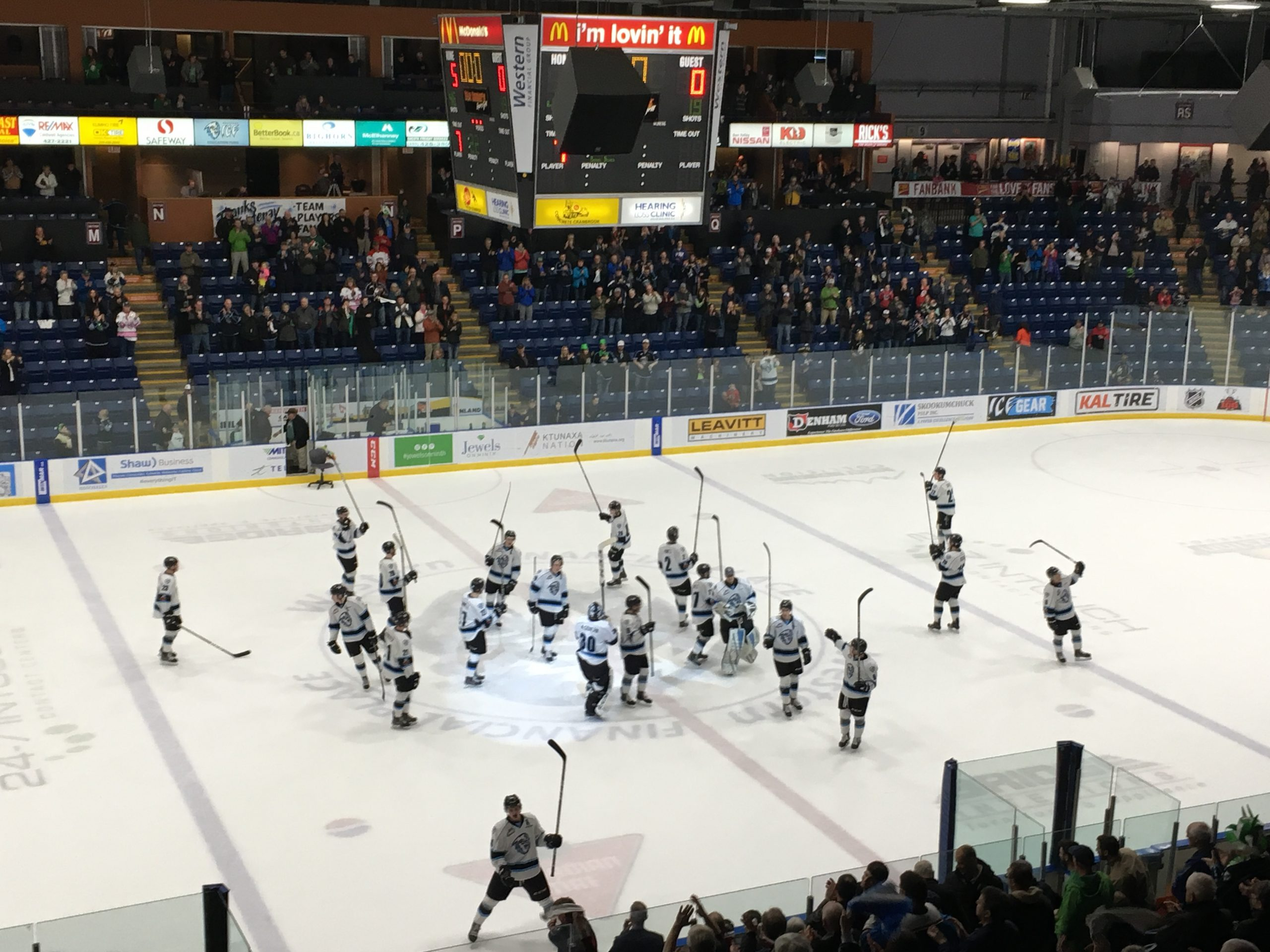 WHL: ICE shut out Rebels to close 2017-18 campaign