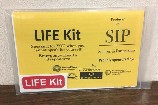 Kimberley Fire urging seniors to fill out Life Kits