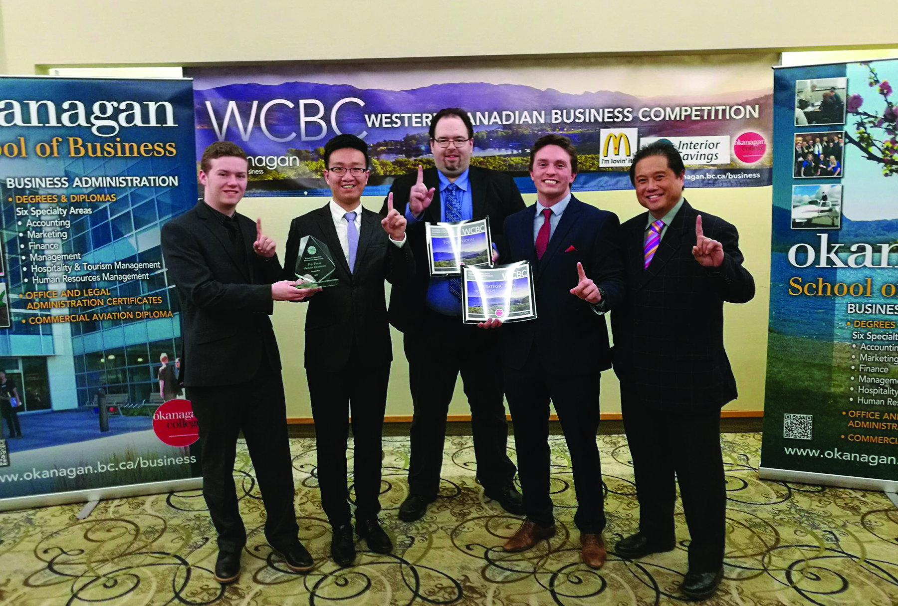 COTR business students win at Western Canada competition