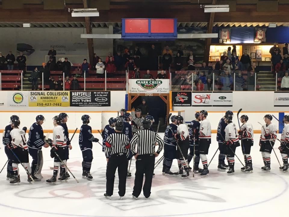 KIJHL: Dynamiters eliminate Rockies, advance to conference final